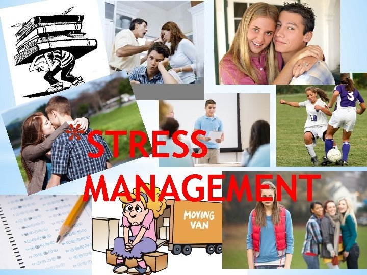 STRESS MANAGEMENT DO NOW Write a short paragraph