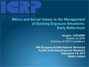 Ethics and Social Values in the Management of