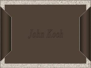 John Koch nasceu em Toledo Ohio em 18