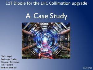 11 T Dipole for the LHC Collimation upgrade