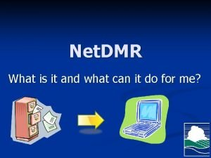 Net DMR What is it and what can