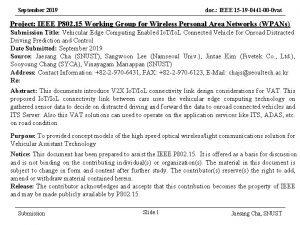 September 2019 doc IEEE 15 19 0441 00