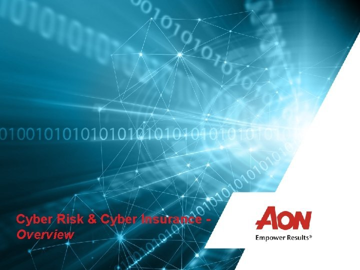 Cyber Risk Cyber Insurance Overview Cyber Risk Management