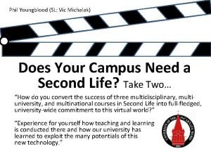 Phil Youngblood SL Vic Michalak Does Your Campus