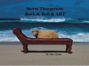 Storm Thorgerson Rock Roll ART By Sam Ahsan
