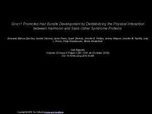 Grxcr 1 Promotes Hair Bundle Development by Destabilizing