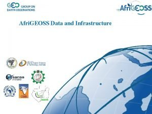 Afri GEOSS Data and Infrastructure GEO Strategic Plan