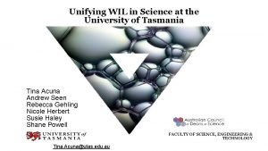 Unifying WIL in Science at the University of