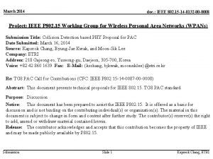 March 2014 doc IEEE 802 15 14 0132