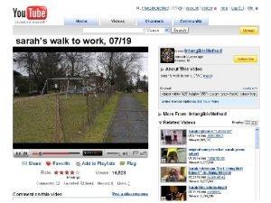 sarahs walk to work 0719 sarahs walk to