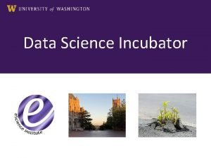 Data Science Incubator This morning Context A Data