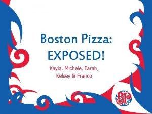 Boston Pizza EXPOSED Kayla Michele Farah Kelsey Franco