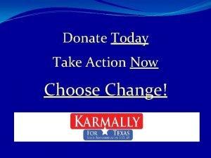 Donate Today Take Action Now Choose Change Sameena