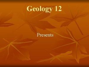 Geology 12 Presents Metamorphic Rocks Chp 7 Metamorphic