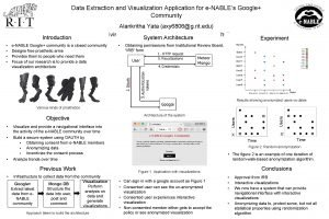 Data Extraction and Visualization Application for eNABLEs Google
