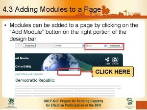 4 3 Adding Modules to a Page Modules