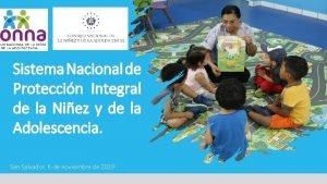 Sistema Nacional de Proteccin Integral de la Niez