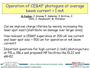 Operation of CEBAF photoguns at average beam current