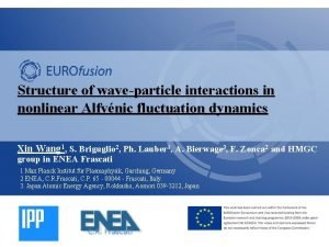 Structure of waveparticle interactions in nonlinear Alfvnic fluctuation