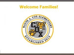 Welcome Families Contact Information Kelsey Faber Email kfabernisdtx