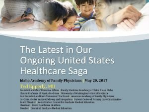 The Latest in Our Ongoing United States Healthcare
