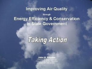 Improving Air Quality through Energy Efficiency Conservation in