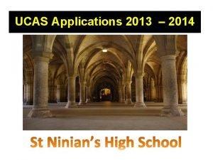 UCAS Applications 2013 2014 2012 2013 Statistics Total