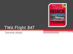 TWA Flight 847 Terrorist Attack The Flight June