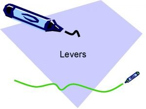Levers What is a Lever A lever is