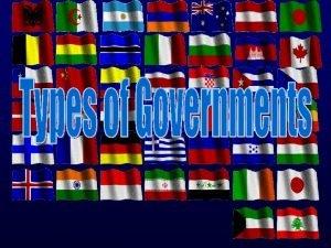 DemocraticLimited Government Direct Democracy Representative Democracy presidential democracy