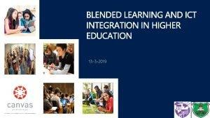 13 3 2019 Agenda Blended Learning Principles Establishing