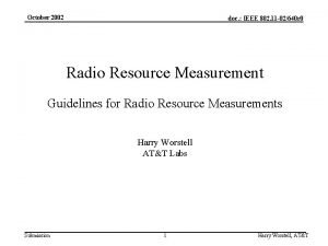 October 2002 doc IEEE 802 11 02640 r