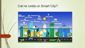 Cat ne costa un Smart City Smart citizen