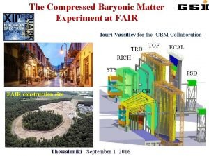 The Compressed Baryonic Matter Experiment at FAIR Iouri
