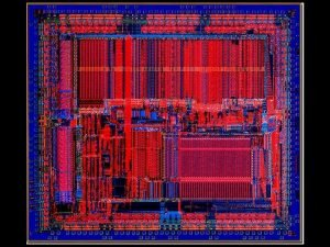1 MIPS Hardware Implementation Full die photograph of