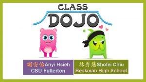Anyi Hsieh Shofei Chiu CSU Fullerton Beckman High