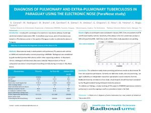 DIAGNOSIS OF PULMONARY AND EXTRAPULMONARY TUBERCULOSIS IN PARAGUAY