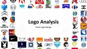 Logo Analysis Team Logo Design Learn Image Analysis