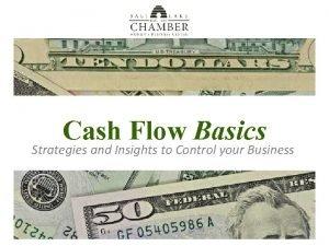Cash Flow Coaching Cash Flow Basics Strategies and
