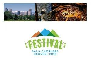 Robin Godfrey Executive Director Executive DirectorGala Choruses org