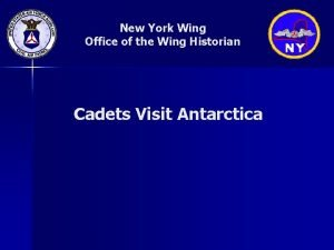 New York Wing Office of the Wing Historian