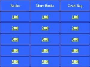 Books More Books Grab Bag 100 100 200