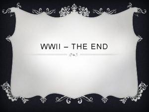 WWII THE END BATTLE OF STALINGRAD v August