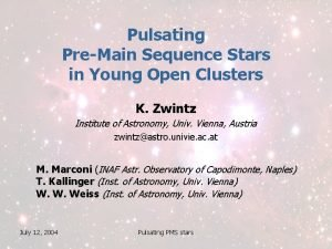 Pulsating PreMain Sequence Stars in Young Open Clusters