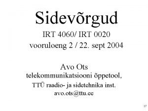 Sidevrgud IRT 4060 IRT 0020 vooruloeng 2 22
