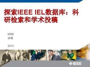 IEEE Societies IEEE Instrumentation and Measurement Society IEEE