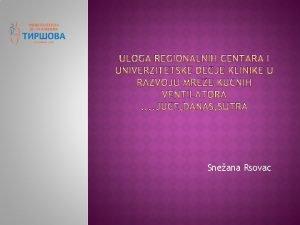 Sneana Rsovac Humanitarna fondacija Novi Beograd prikuplja novana