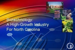 Biotechnology A HighGrowth Industry For North Carolina Biotechnology