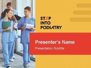 Presenters Name Presentation Subtitle Physicians Surgeons Specialists Physicians