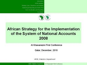 Introduction AGNA activities Strategic Lines Objectives and Activities